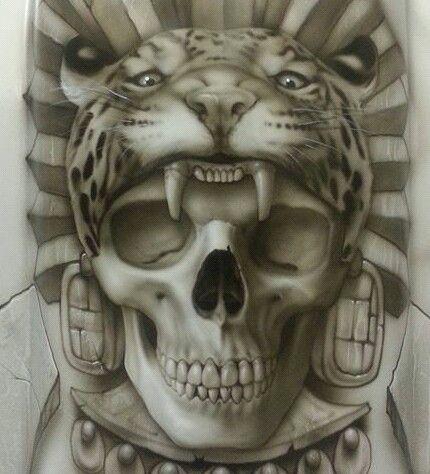 61 best prison chicano art images on pinterest chicano for Jaguar warrior tattoo