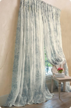Curtains are a simple thing that can make or break a room. I'm dreaming of new curtains because mine are awful cheap short ones from Wal-Mart.