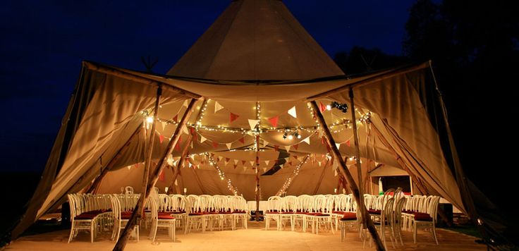 TopKata Teepee Tents | interior Image Gallery | Tents for Events NZ