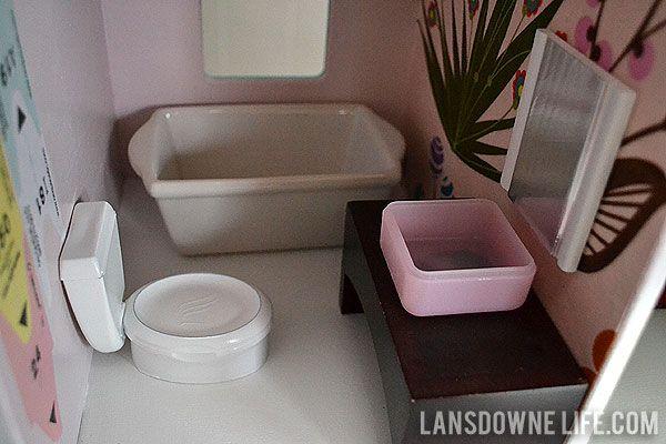 Diy Dollhouse Bathroom Furniture Part 6 Of 6 Ideas For