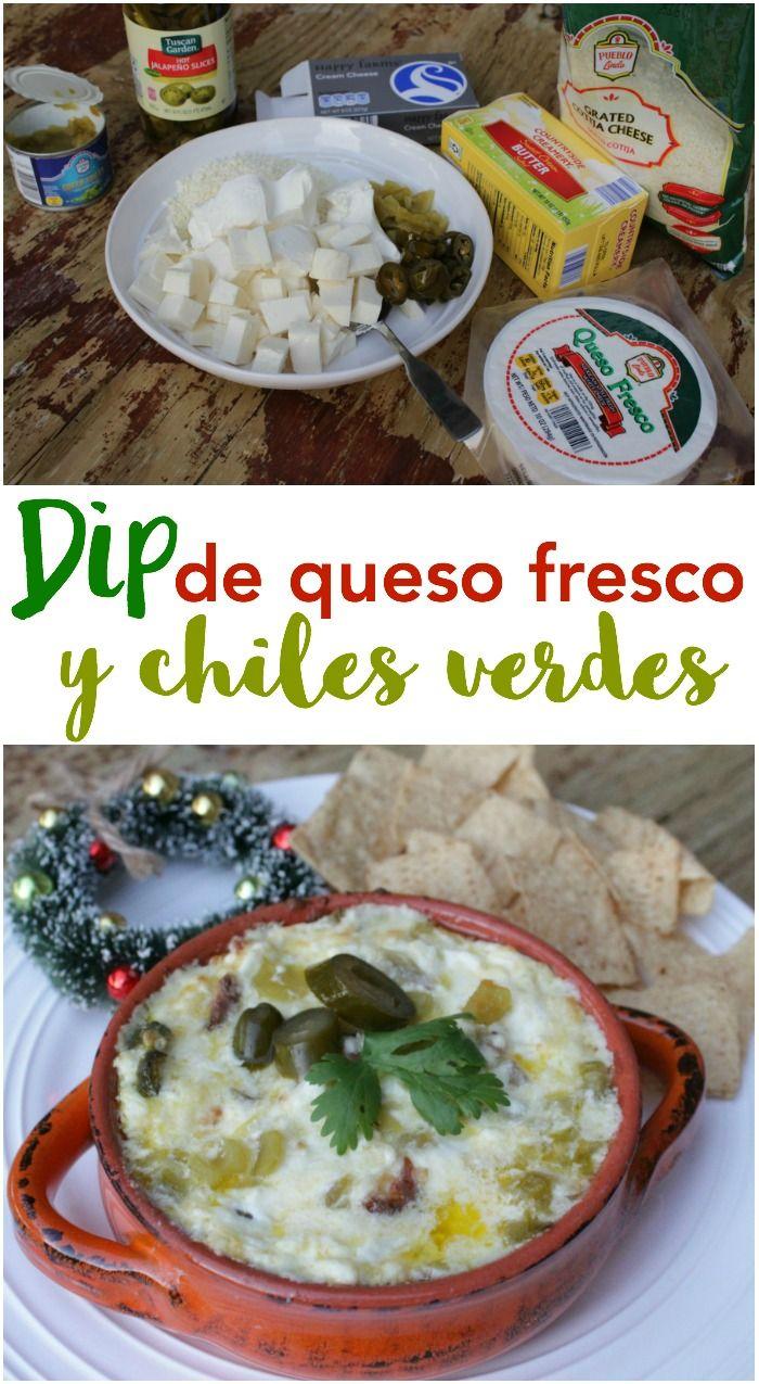 Prepara este delicioso dip de queso fresco con chiles verdes. Todos los ingredientes los encuentras en @aldiusa junto con otros productos hispanos. Receta #ILikeALDI #ad