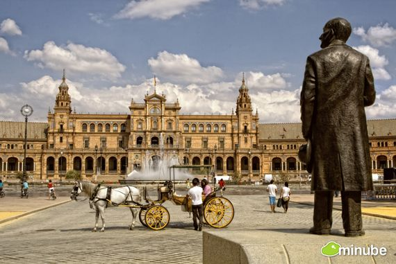 2) Seville, Spain: Seville is the crown-jewel of imperial Spain and visitors can delight at the city's narrow streets lined with orange blossoms, Moorish castles, and some of Spain's most legendary tapas joints. (Photo by Zu Sanchez)