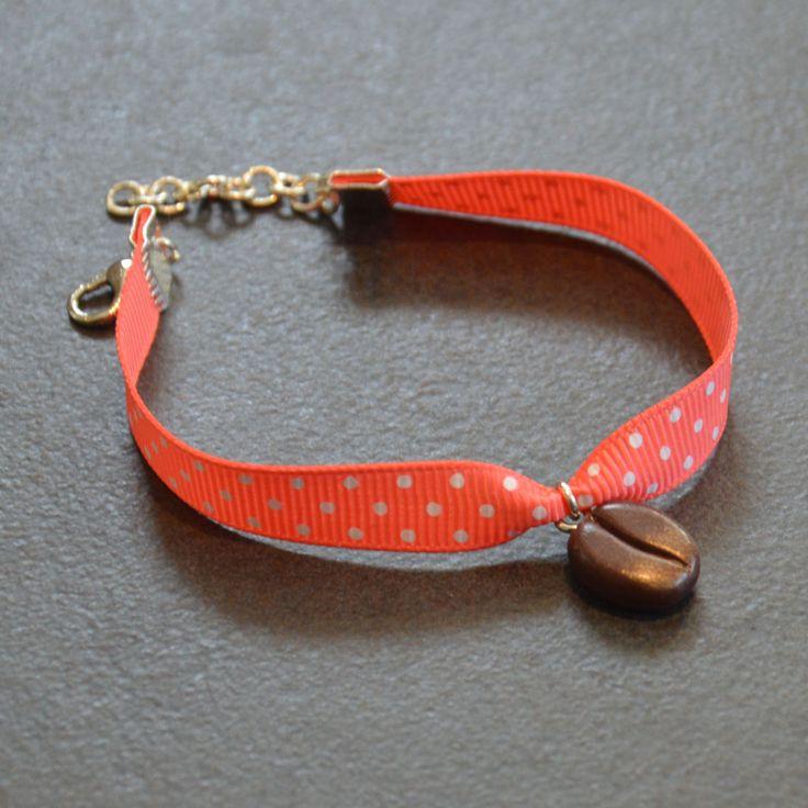 bracelet grain de café : Bracelet par misslilli