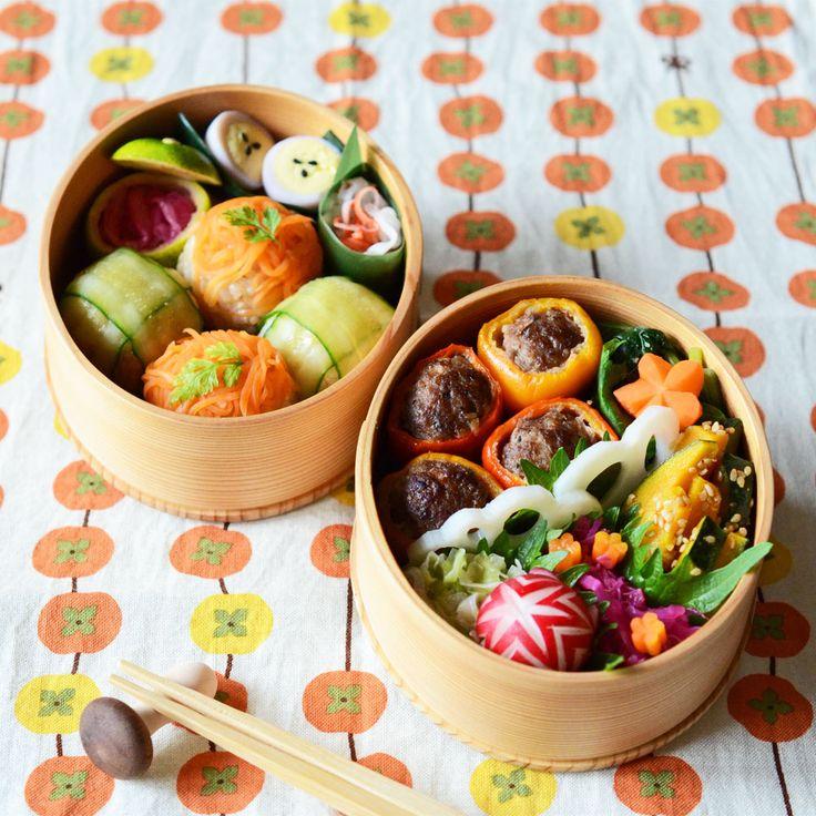 月曜日はお弁当いらなかったから、今週の初のお弁当ヽ(´▽`)/お弁当いらないのは...