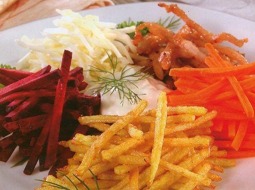 Рецепты салатов с жареной куриицей