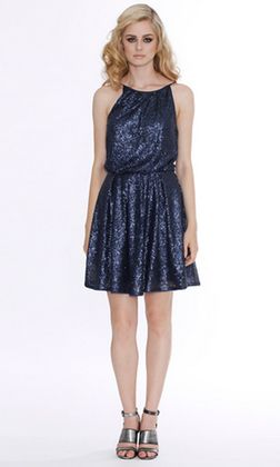 All That Glitters Floaty Dress by ROMANCE | Ladies Dresses Online | @alibiOnline