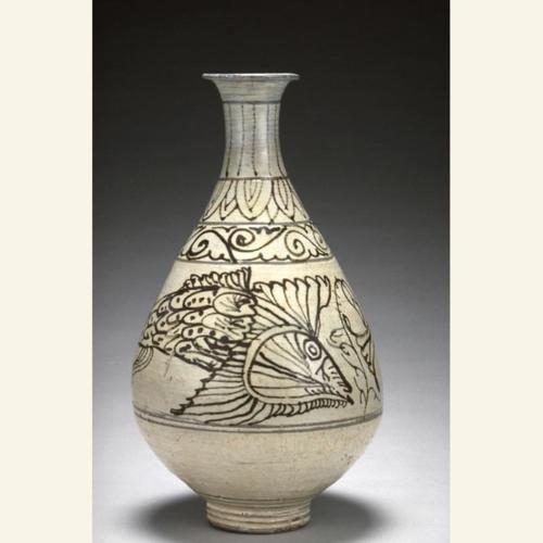 Bottle; Korea, 1550-1590  The Asian Art Museum