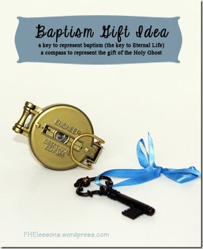 An object lesson to use before baptism or for a talk at a baptism using the analogy of life as a Treasure Hunt.  Baptism is the key to the treasure and the gift of the Holy Ghost is our compass.