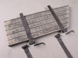 how to: working miniature door hinges from beads