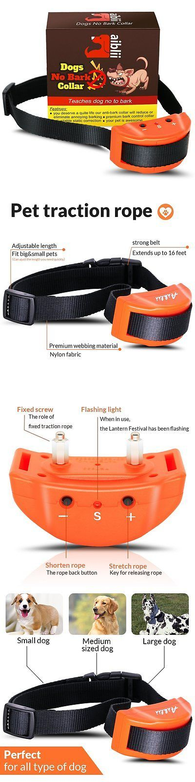 Bark Collars 66774: No Bark Collar For Dog By Aiblii- Anti Shock Stop Barking Control Training - 7 -> BUY IT NOW ONLY: $78.71 on eBay!