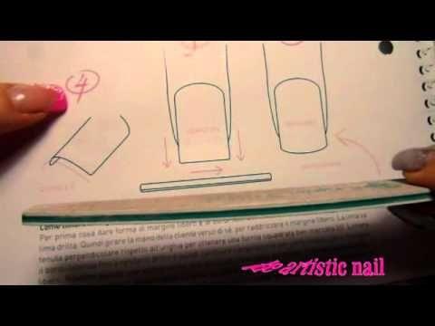 tutorial limatura quadrata,squoval ,tonda (RICOSTRUZIONE UNGHIE) - YouTube