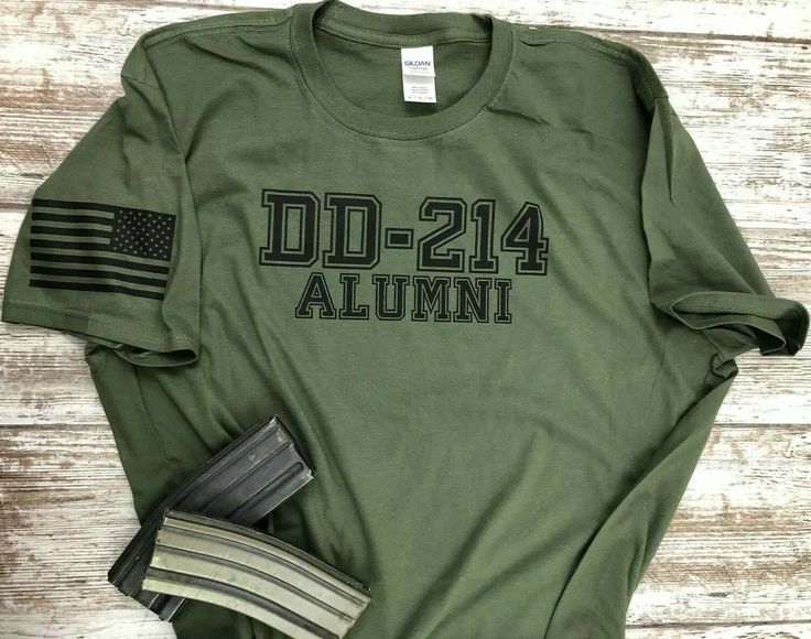 DD-214 Alumni Military T-shirt. Perfect For Marines Army Navy Air-force $15.95  - Crew Necks Tee - Ideas of Crew Necks Tee #CrewNecksTee