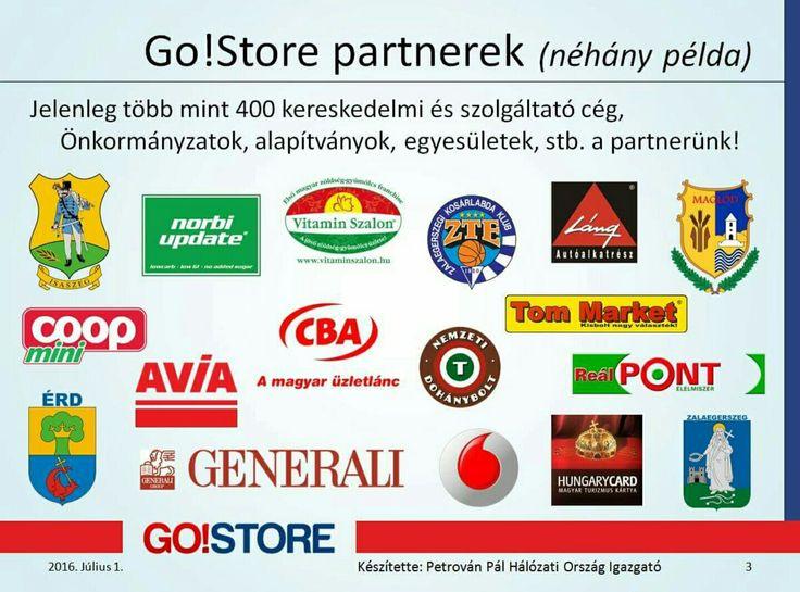 Go!Store partnerek