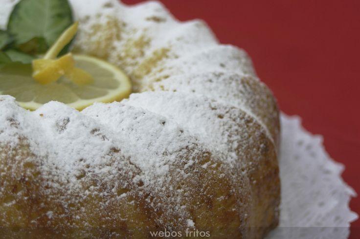 Bizcocho rápido de limón | Webos Fritos