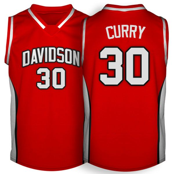 best service 38246 343ad ncaa basketbal jerseys davidson wildcats 30 stephen curry ...
