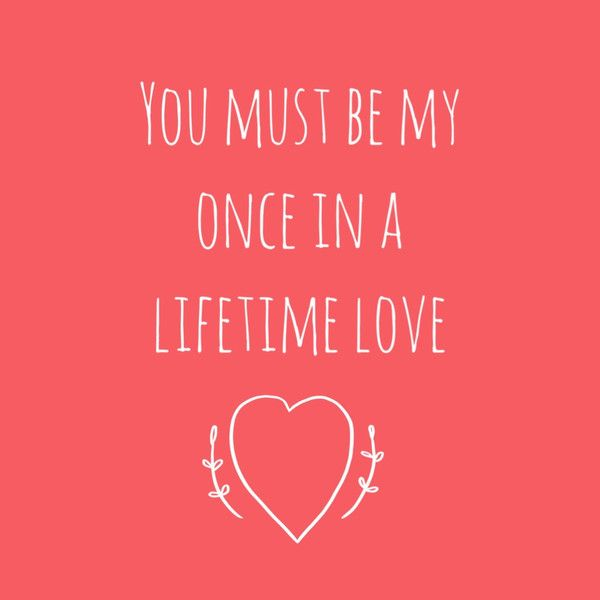 Love Cards - Once in a Lifetime Love