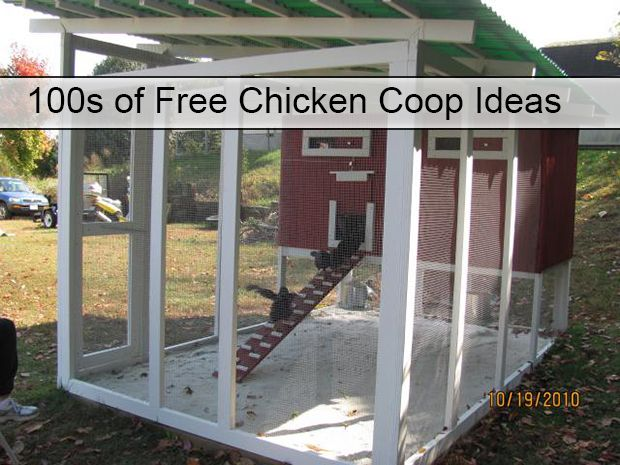 100s of Free Chicken Coop Ideas Read HERE --- > http://www.livinggreenandfrugally.com/100s-of-free-chicken-coop-ideas/