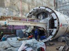Την Κυριακή ολοκληρώνεται η διάνοιξη και της δεύτερης σήραγγας της βασικής γραμμής του μετρό