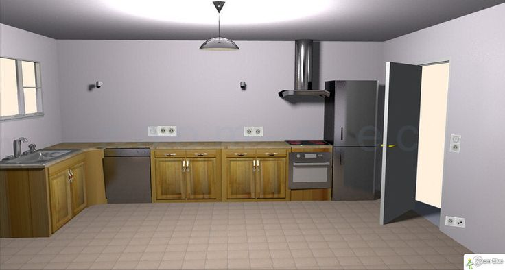 Installation électrique de la cuisine, plan de l\u0027électricité d\u0027une