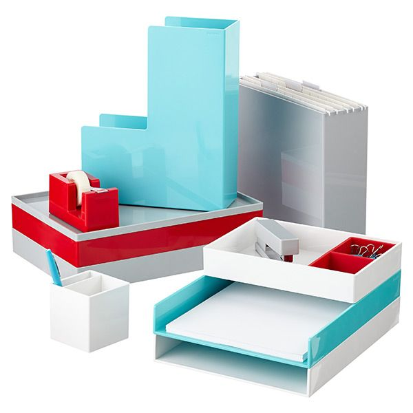 red poppin magazine holder pencil cup magazines and. Black Bedroom Furniture Sets. Home Design Ideas