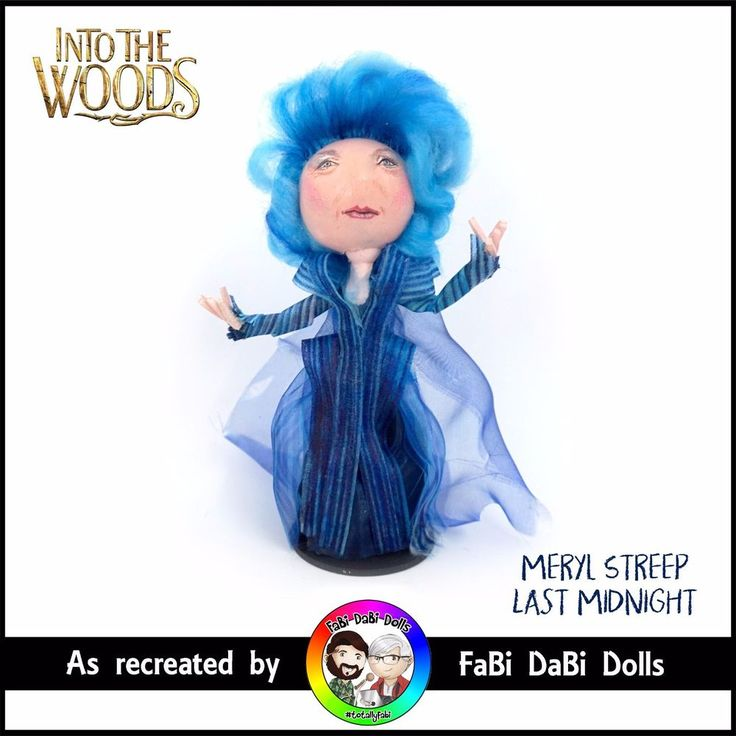 meryl streep sondheim into the woods doll by fabi dabi dolls available now on our ebay store