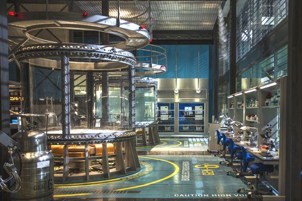 Oscorp research lab