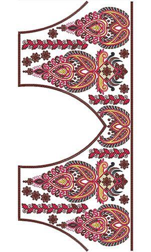 Kutchi Work Saree Blouse Design