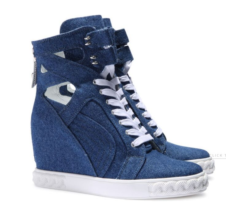 CASADEI DENIM SNEAKERS www.e-catwalk.pl