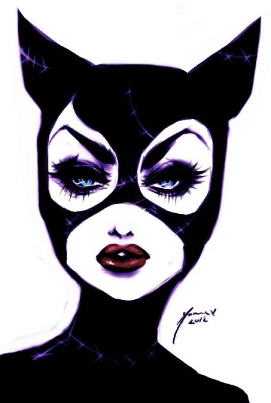 Selina: Crazy Cat Ladies, Catwoman Art, Cat Women, Catwomen, Digital Art, Comic Book, Batman, Selina Kyle, Green Eye
