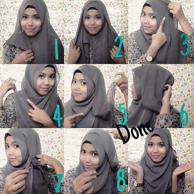 Casual Hijab Look – Step by Step Tutorial