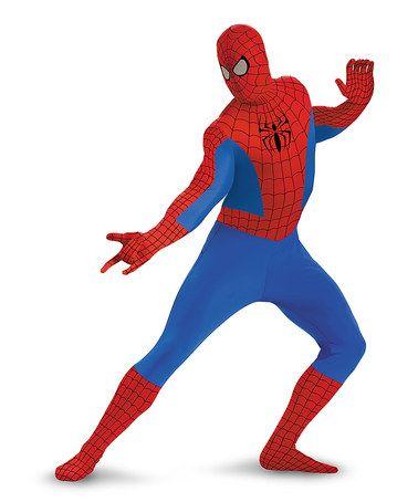 Look at this #zulilyfind! Spider-Man Bodysuit Costume - Men #zulilyfinds