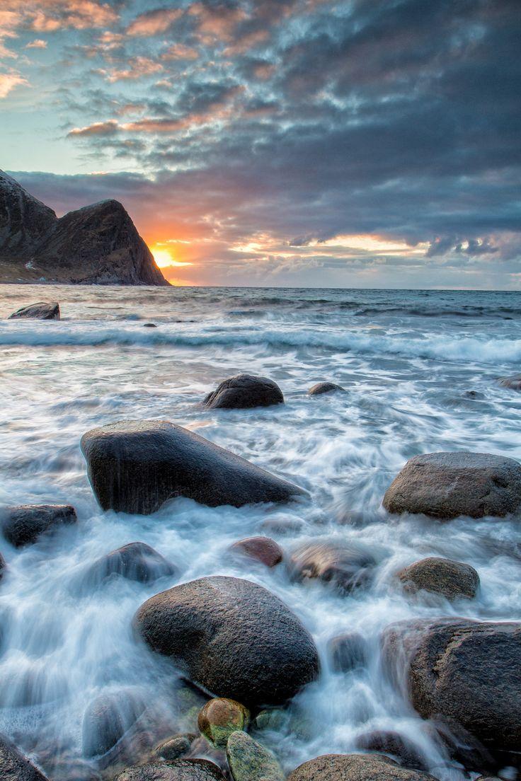 Unstad Beach - null