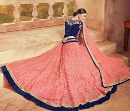 Photo: Lehenga: Buy Lehenga | Bridal Lehenga | Lehenga Saree | Ghagra Choli | Designer Lehenga | Best Prices Online in India | Eliteemporio.com