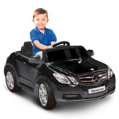 Mercedes Benz E550 6V Battery Powered Car