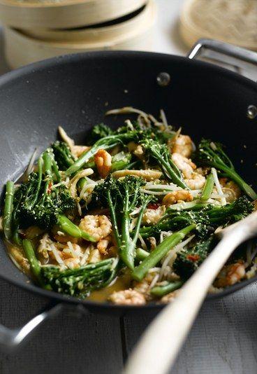 Przepis na krewetki - Dania z brokułów: przepisy na dania z brokułów…