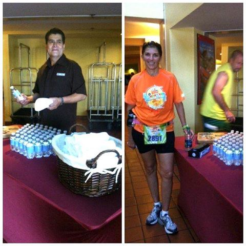 We helped out our guests and runners during the Disneyland Marathon this weekend!