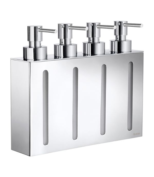 1000 images about hotel resort bathroom liquid dispenser on pinterest soaps stainless - Wall mounted shampoo and conditioner dispenser ...