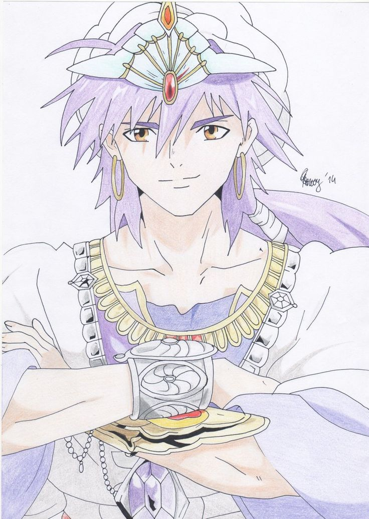 Sinbad - Magi (a request. I still know pretty much nothing about this guy...)
