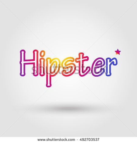 Hipster app Icon. Hipster Icon at Sunset color gradient Instagram new logo 2016. Vector illustration for social media app design. Instagram, Sport, Travel, camera. photo project. Hipster logo concept.