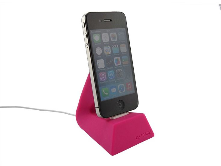 Docking station iPhone 5/5S/6/6 Plus Capdase versa dock Roze