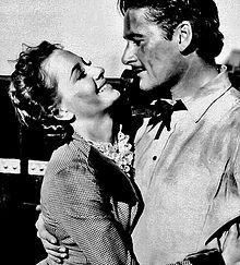 Olivia de Havilland and Errol Flynn in Dodge City... when women were women and men were men