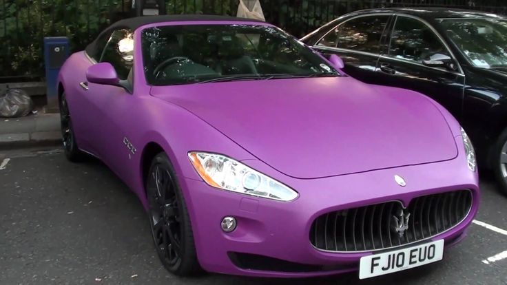 Pink Maserati Granturismo #CarFlash #FightBreastCancer