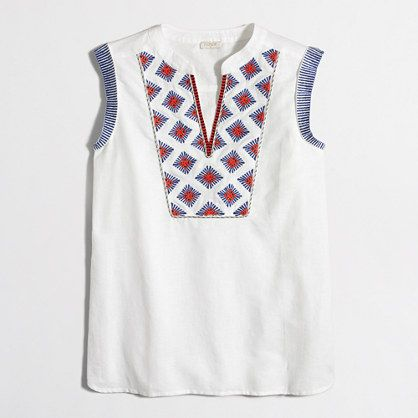 Eastbay Cheap Price Sleeveless Top - Boho Polka Blouse SS by VIDA VIDA Discount Authentic Online Big Discount For Sale Cheapest Price 5fY9Rfupf7