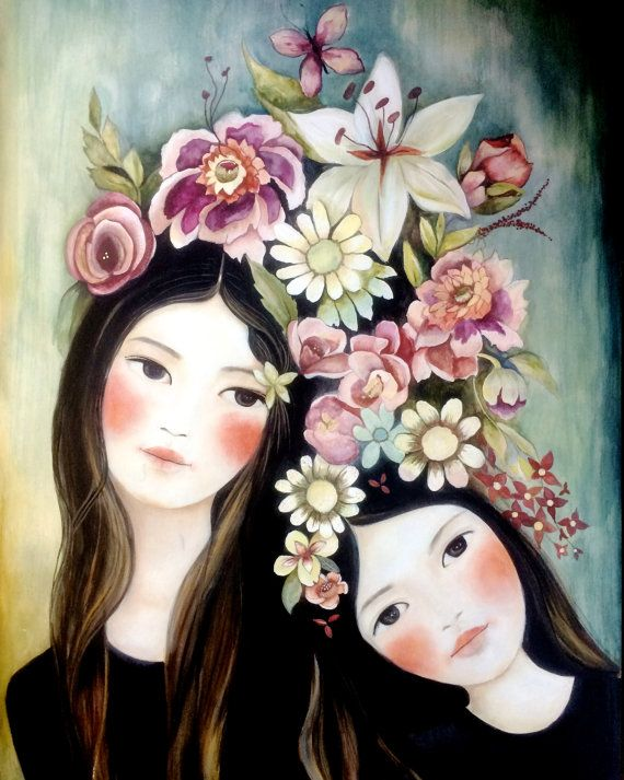idea de regalo impresión de arte floral de por claudiatremblay