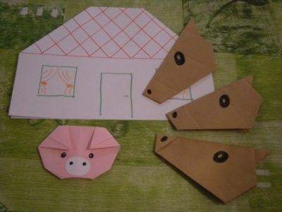 Mesélj origamival 2. rész – A farkasok