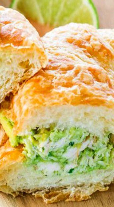 Avocado Chicken Croissant