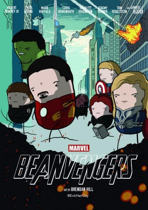 Bean characters!
