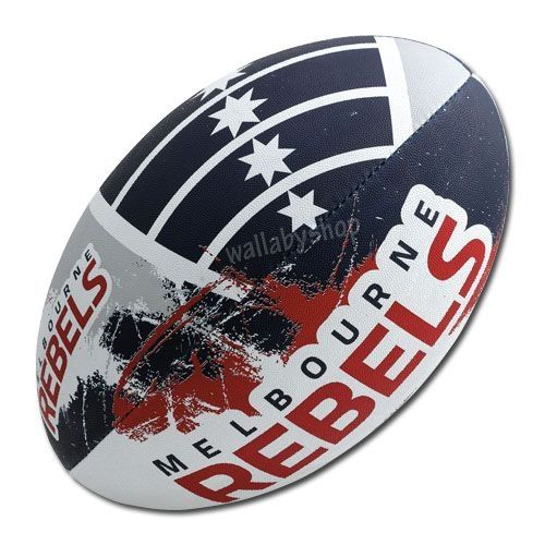 Melbourne Rebels Gilbert Rugby Ball