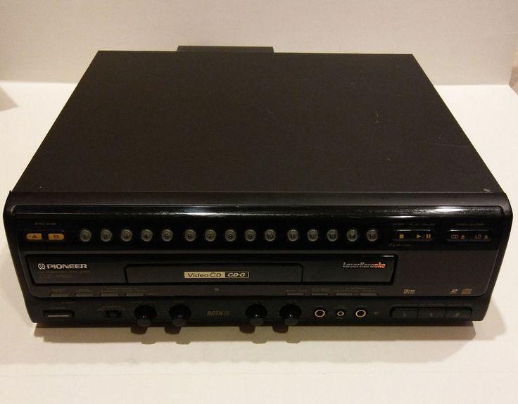 PIONEER CLD-V880 HIGH END KARAOKE LASERDISC + VIDEO CD VCD PLAYER DUAL SIDE PLAY #Pioneer