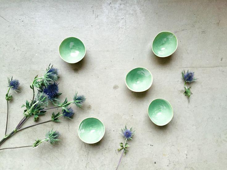 Cupps Pea Green - Pea Green Cups: Remodelista -by ELIN LANNSJÖ